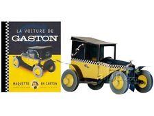 Album de Luxe Gaston Lagaffe La voiture de Gaston, maquette en carton, Michel Ar