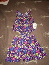 Girls Size 24 Months 2 Piece Floral Outfit New:)