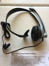 New 2.5mm Mono Boom Mobile/Home Headset  Hands Free OVER THE EAR w/Microphone