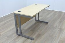 Sven Christiansen Maple 1200mm Cantilever Straight Office Desks