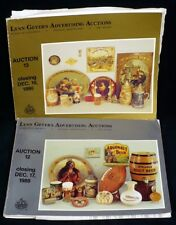Lot  of TWO #12 & #13 Geyer Breweriana Beer Soda Auction Catalogs With Prices
