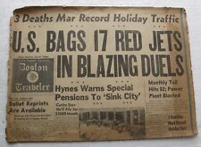 Aug 30 1952 Boston Newspaper - Norwalk CT Little League Champs, US BAGS RED JETS