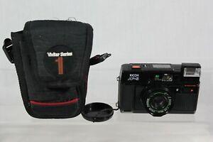 Ricoh AF-5 35mm Point & Shoot Film Camera 38mm f2.8 Lens Color Rikenon Vintage