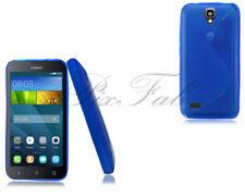 Fundas y carcasas Huawei color principal azul de silicona/goma para teléfonos móviles y PDAs