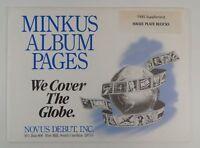 Minkus Israel 1995 Supplement Plate Blocks Stamp Album Pages