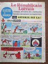 LE REPUBLICAIN LORRAIN ILLUSTRE DU DIMANCHE 4 UDERZO GREG MORRIS GRATON... 1967