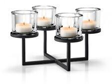 BLOMUS Kerzenleuchter NERO Kerzenhalter Kerzenständer Leuchter Geschenk 65555