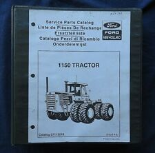 Original New Holland Ford 1150 Tractor Parts Catalog Manual Nice Shape