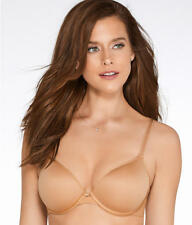 Chantelle 2196 Smooth Invisible Plunge T-Shirt Lined Underwire Bra US Sz 32 DD
