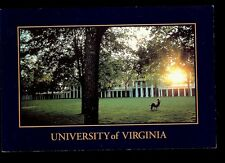 University of Virginia Charlottesville VA  College  Postcard
