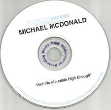 Doobie Brothers MICHAEL McDONALD Ain't No Mountain High Enough PROMO CD single