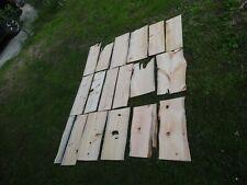 Zirbenholz 18 Stück Reste vom Hobeln