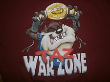 TASMANIAN EVIL SWEATSHIRT Taz War Zone Championship Belt Boxing Wrestling MMA