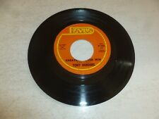 "TONY BORDERS - Cheaters never win - USA 2-track Juke Box 7"" Vinyl Single"