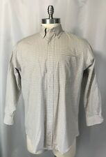 Brooks Brothers Makers Plaid Men's 16 - 32 Button Down Shirt