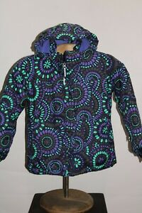 COLUMBIA Girls Small (8) Insulated hooded Snowboard/snow Jacket