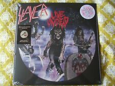 SLAYER LIVE UNDEAD RED/WHITE SPLATTER VINYL ALBUM NUMBERED NEW&SEALED