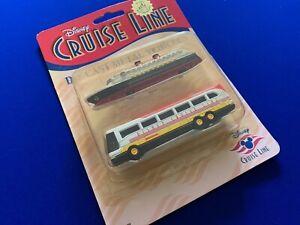 Disney Cruise Line - Die Cast Metal Collectors Original Ship and Bus Vehicles