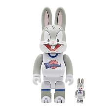 Space Jam Bugs Bunny Bearbrick 400% 100% Set Medicom Be@rbrick