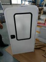 RV caravan teardrop door
