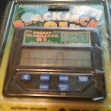 Radica Blackjack 21 Model 1350 Open Package  Works Lcd Las Vegas Style Deal Draw