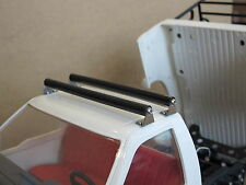 Pair 11.5cm exterior Cross member bar Roof Bike Rack Tamiya 1/10 scale sc
