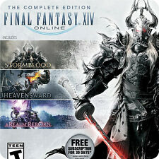 PS4 Final Fantasy XIV Online: The Complete Edition SONY Enix RPG Games PREORDER