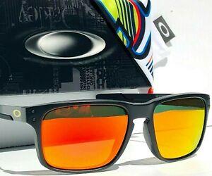 NEW Oakley HOLBROOK MIX VR46 Rossi Matte Black w POLARIZED Galaxy Ruby Sunglass