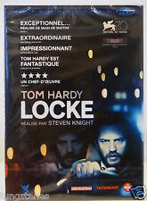 film Dvd LOCKE Tom Hardy neuf nouveauté 01/2015 Steven Knight thriller