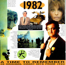 1982: 20 Original Chart Hits by Various Artists (CD, Aug-1997, A Time To Remembe