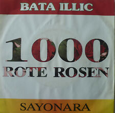 "7"" 1990 RARE ! BATA ILLIC : 1000 Rote Rosen // MINT- \"