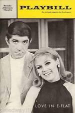 "Kathleen Nolan ""LOVE IN E-FLAT"" Hal Buckley 1967 Broadway FLOP Premiere Playbill"
