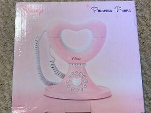 Disney Princess Corded Home/Bedroom Telephone, Pink Heart- BRAND NEW!