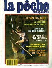 Revue  La pêche et les poissons No  516 Mai 88