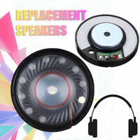 40mm 2pcs/Set Replace Speaker Part For QuietComfort QC25 Driver Headphone