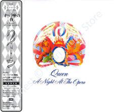 QUEEN A NIGHT AT THE OPERA CD MINI LP OBI May Mercury Deacon Taylor album new