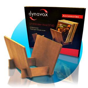 Dynavox Vinyl LP Ständer ST40 Kiefernholz braun für 40 Schallplatten 207674