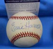 ERNIE HARWELL PSA DNA Coa Autograph American League OAL Signed Baseball