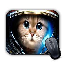 Spazio Gatto Tappetino Mouse Pad Computer PC Mac MacBook GIOCO Carino Gattino Astronauta Nuovo