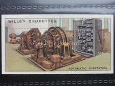 No.27 AUTOMATIC SUBSTATION, UK Engineering Wonders W.D.& H.O. Wills 1927