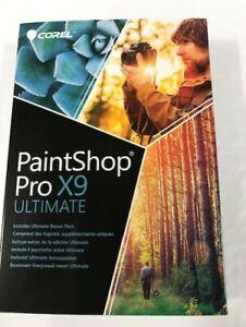 Corel Paintshop Pro x9 Ultimate PC NEW!