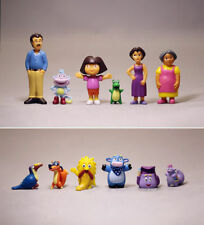 DISNEY DORA THE EXPLORER ACTION FIGURINES KID CAKE DECOR TOPPER FIGURE TOY SET