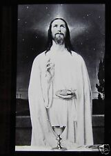 Glass Magic Lantern Slide BREAD OF THE WORLD C1910 CHRISTIAN RELIGION