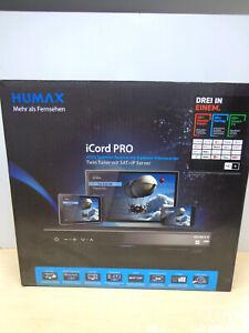 Elektonik - Humax : Icord pro Twin Tuner / HDTV Satellite Receiver (500GB
