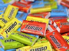 ⚠️ TURBO soft bubble gum «no sticking» 100 pcs with wrappers inside!