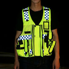 New High Visibility Reflective Safety Vest Security Gear Stripes Jacket In Night