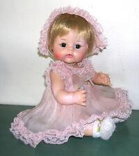 """Vintage Madam Alexander """"Sweet Tears"""" baby doll 1965 blonde brown 12"""""""