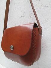 AUTHENTIQUE  sac à main  STYLE HIPPY  cuir  (T)BEG bag  bag