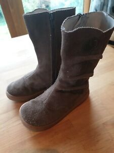 Livie Luca Boots US11 Uk10 Tiempo Brown Suede leather