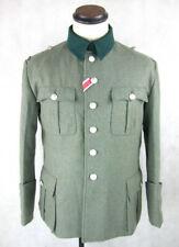 Wehrmacht Polizei Feldbluse Offizier Feldjacke M36 feldgrau Wolle Gr.XL/54